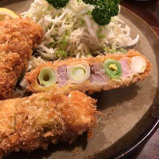串カツ定食(かつ新 )