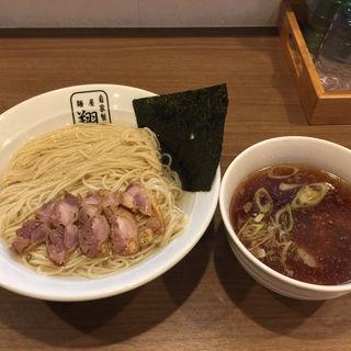 昆布水親鶏つけ麺(自家製麺 麺屋 翔)