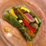 本鮪と夏野菜のテリーヌ