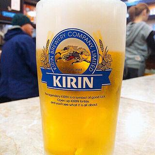 生ビール(京極スタンド (きょうごくすたんど))