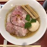 味玉金色貝そば(燃えよ麺助)