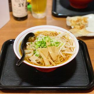 豚ニラワンタン麺(吉翔ワンタン専門店)
