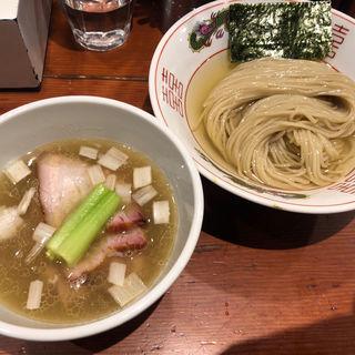 濃厚昆布水の淡麗つけ麺(塩) (麺処 ほん田)