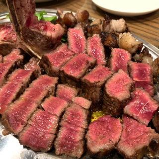 フィレ肉ステーキ(文世食堂 (フミヨショクドウ))