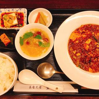 四川麻婆豆腐セット(美食天堂 金威 Kamui)