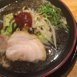 麺・イン・ブラック(一風堂 札幌狸小路店)
