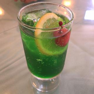 ソーダ水(レストランこはく )