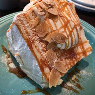 エンゼルフードケーキ バニラキャラメル(グッドモーニングカフェ 中野セントラルパーク店 (GOOD MORNING CAFE))
