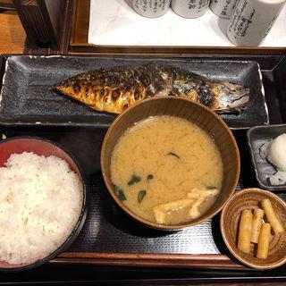 サバ文化干し(しんぱち食堂 田町店 )
