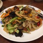 焼き豚と野菜の炒め物