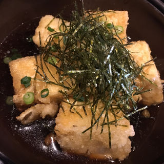 揚げ出しゆず豆腐