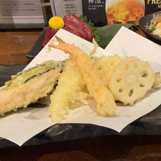 天ぷら4種盛り