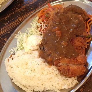 カツトルコライス (大)(昭和洋食 開陽亭)