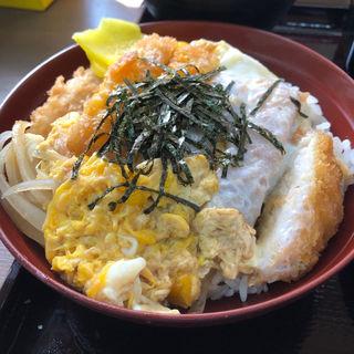 ミニカツ丼(十割蕎麦専門店 名代天下そば)
