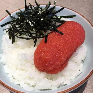 明太子ご飯(大福うどん エキサイド店)