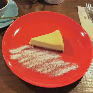 チーズケーキ(ダンケ 心斎橋 (バターブレンドコーヒー ダンケ))