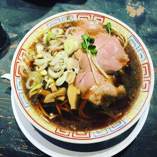 サバ醤油そば(サバ6製麺所 西中島南方店 (さばろくせいめんしょ にしなかじまみなみかたてん))