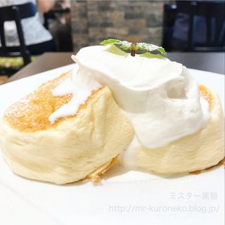 オリジナルパンケーキ プレーン(カフェ ドゥ パリ)