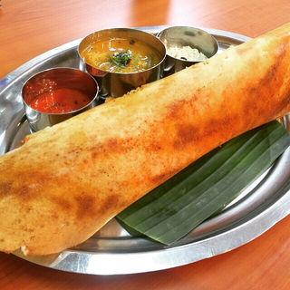 四川風ドーサ(南インド料理 マハラニ )