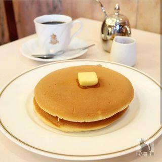 コロンバンのホットケーキ(コロンバン 原宿本店)