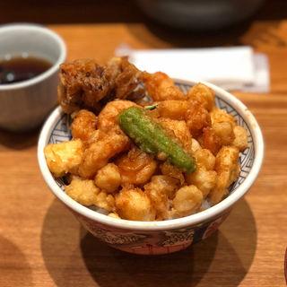天ばら丼(天丼 金子屋 赤坂店 )