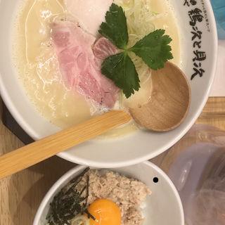 鶏貝そば(麺や 鶏次と貝次)