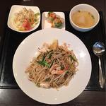 Fセット(日替わり焼飯&焼麺)