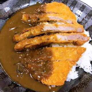 ヤマトポークカツカレー(ごんた食堂)
