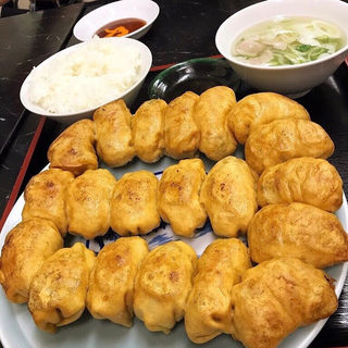焼き餃子(ホワイト餃子 高島平店 (ホワイトギョウザ))