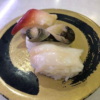 貝三種盛り(はま寿司 横浜岡野店 )