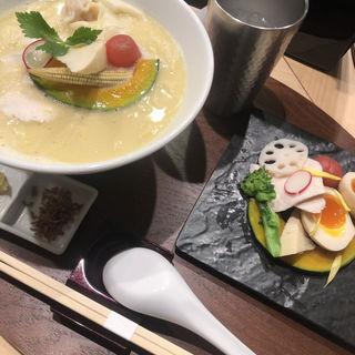 特製鶏白湯SOBA(銀座 篝)