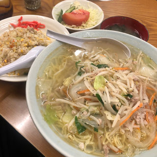 タンメン・チャーハン(みゆき食堂 ((大衆食堂)))