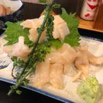 白ミル貝のお刺身