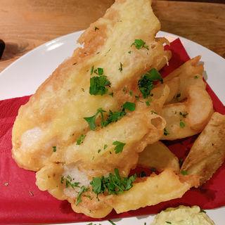 フィッシュ&チップス(富士屋本店グリルバー)