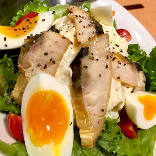 サバ燻製焼のポテトサラダ(魚民 浜松南口駅前店 )