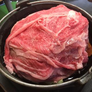 牛鍋定食(ホルモンまさる  )