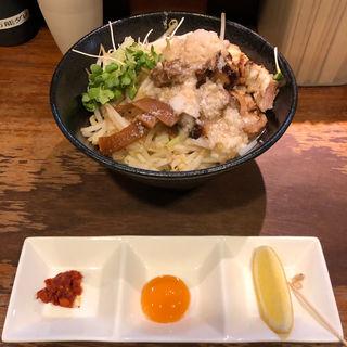 油そば(麺座ぎん)
