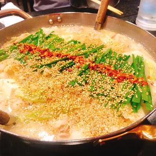 モツ鍋(味噌)(牛もつ鍋専門 やま本 )