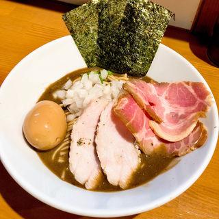 特製濃厚蕎麦(亀戸煮干中華蕎麦つきひ)