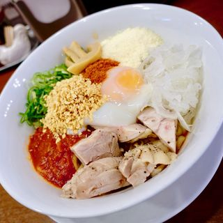 トマトソースのち〜の(RAMEN 風見鶏 阿倍野 (ラーメンカザミドリ))