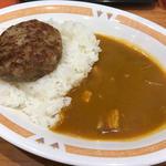 ハンバーグカレー(カレーショップ C&C 新宿本店 )