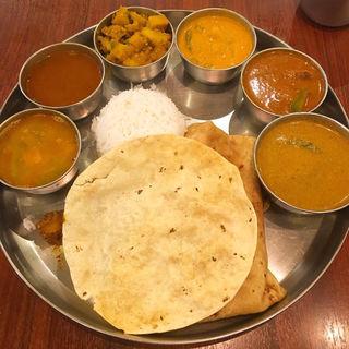 ランチミールス(アーンドラ・キッチン (Andhra Kitchen))