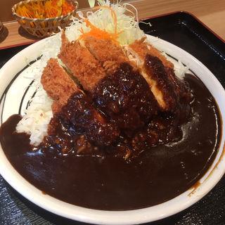 チキンかつカレー ブラック(かつさと 浜道店 )