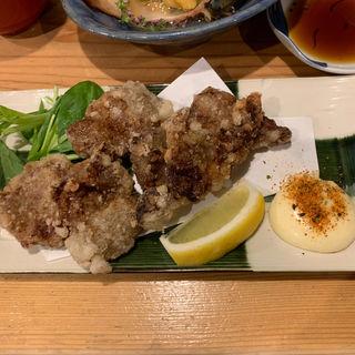 ミンククジラ味噌漬け竜田揚げ(味彩しん家 )