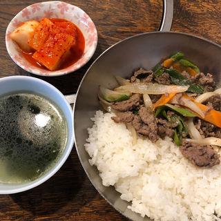 プルコギ定食(ソナム 東中野本店)