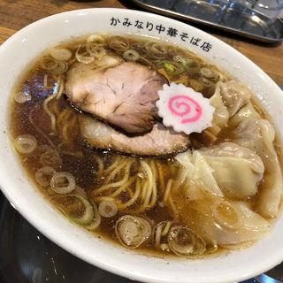 ワンタンメン(かみなり中華そば店)