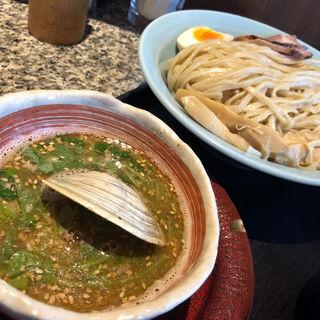 濃厚魚介つけ麺(割鮮 うを亀本店)