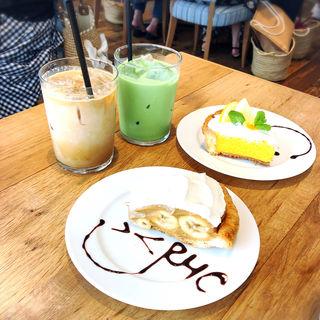 キャラメルバナナパイ(RHC  cafe ららぽーと豊洲店)