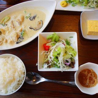グリーンカレー定食(今泉キッチン)