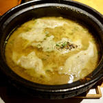 魚の炊き餃子(江ノ島小屋)